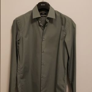 Men's Hugo Boss Slim Fit Dress Shirt 38/15